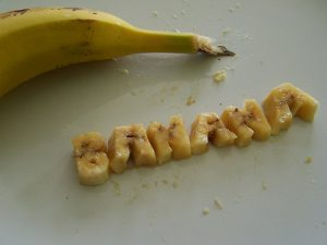 Banana spelled