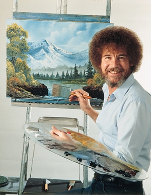 I Spent Two Months Trying To Buy A Bob Ross Painting Because Nothing