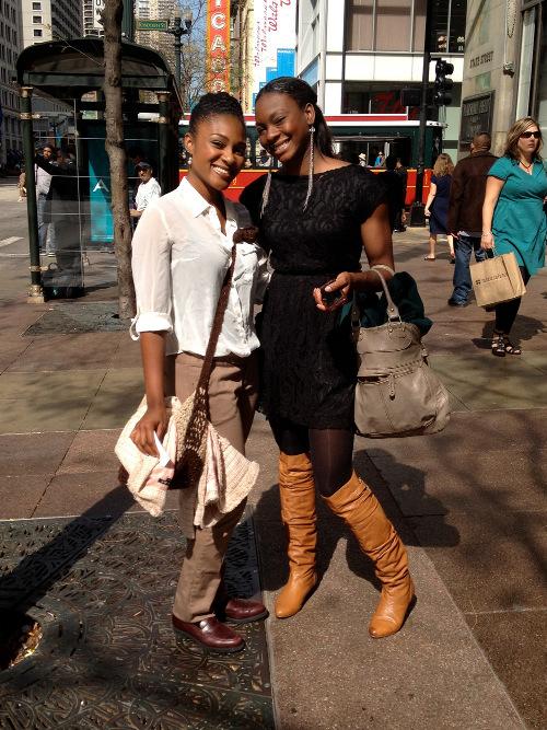 Rebel Street Style Kudzaishe and La-Dreauna