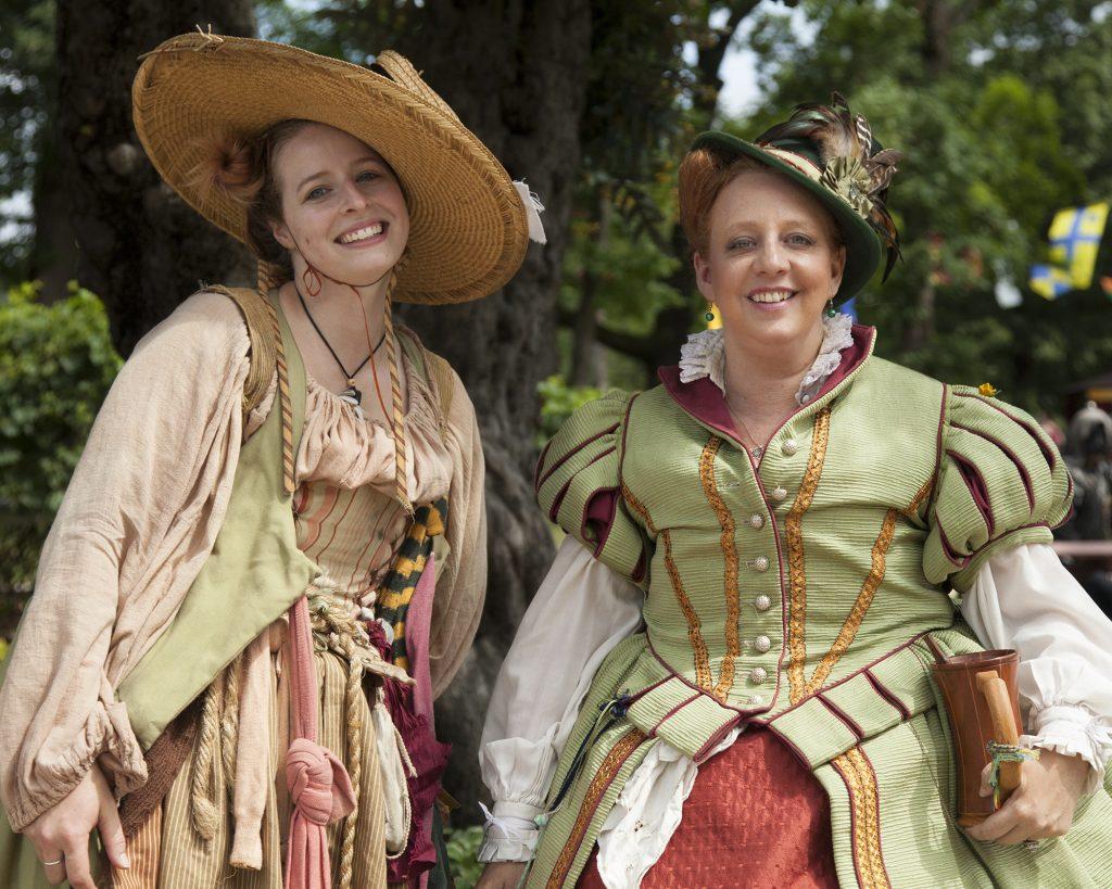 Kat Brown and Heather Last of the Bristol Renaissance Faire