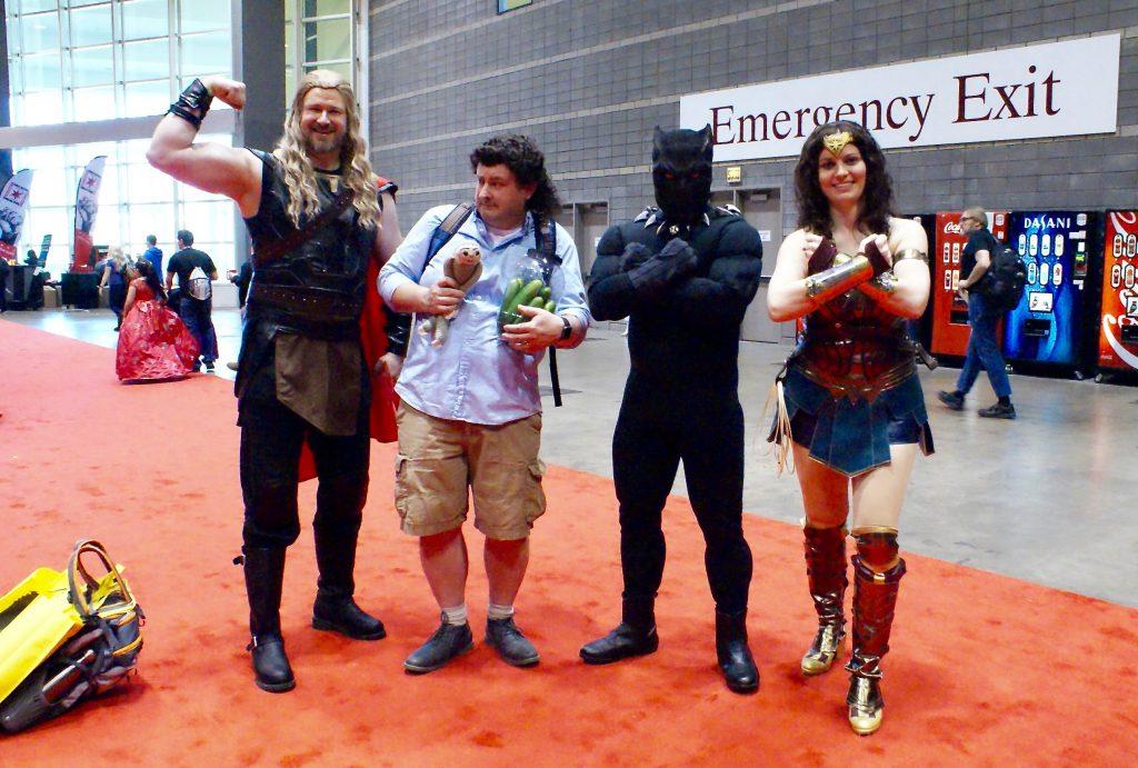 C2E2 Wonder Woman & Friends