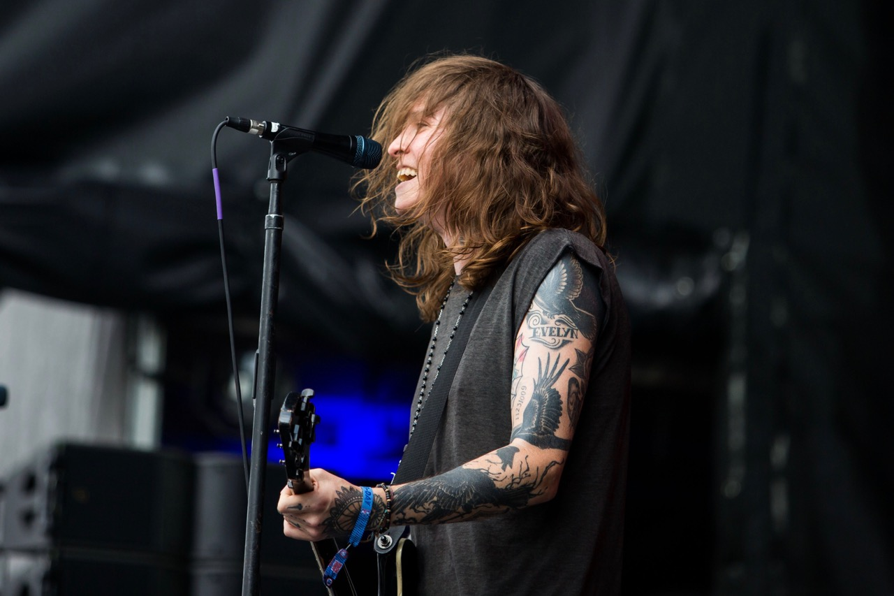 Against Me! performs at Riot Fest in Chicago on Sept. 15, 2019