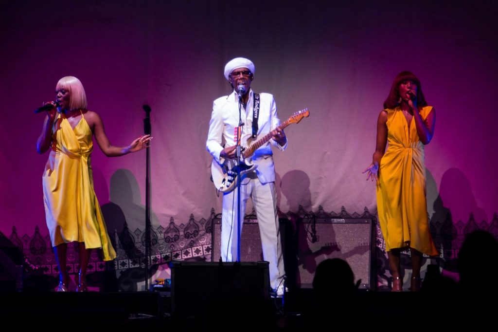 Nile Rodgers and CHIC
