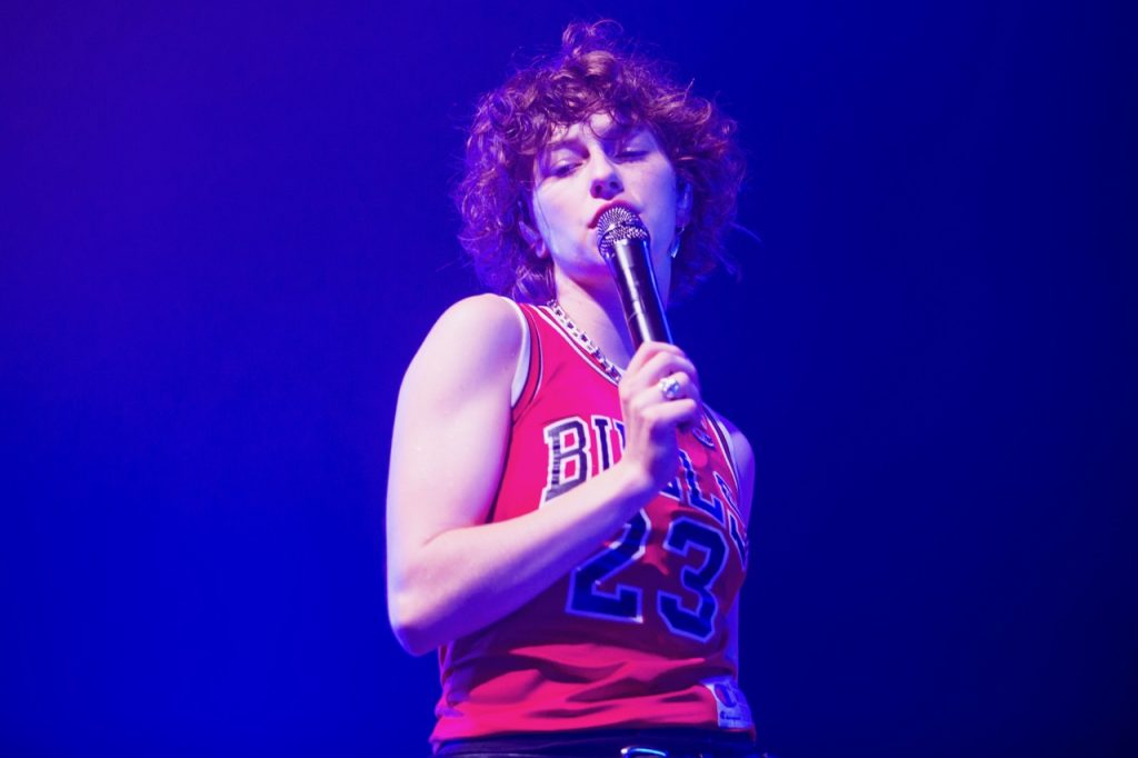 King Princess performs at the Riviera Theatre in Chicago on Feb. 5, 2020.