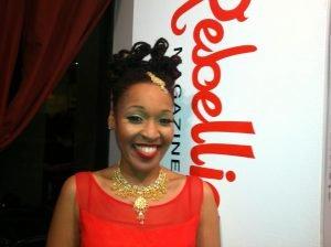 Karen Hawkins Rebellious Magazine launch party 2012 by Carla K. Johnson