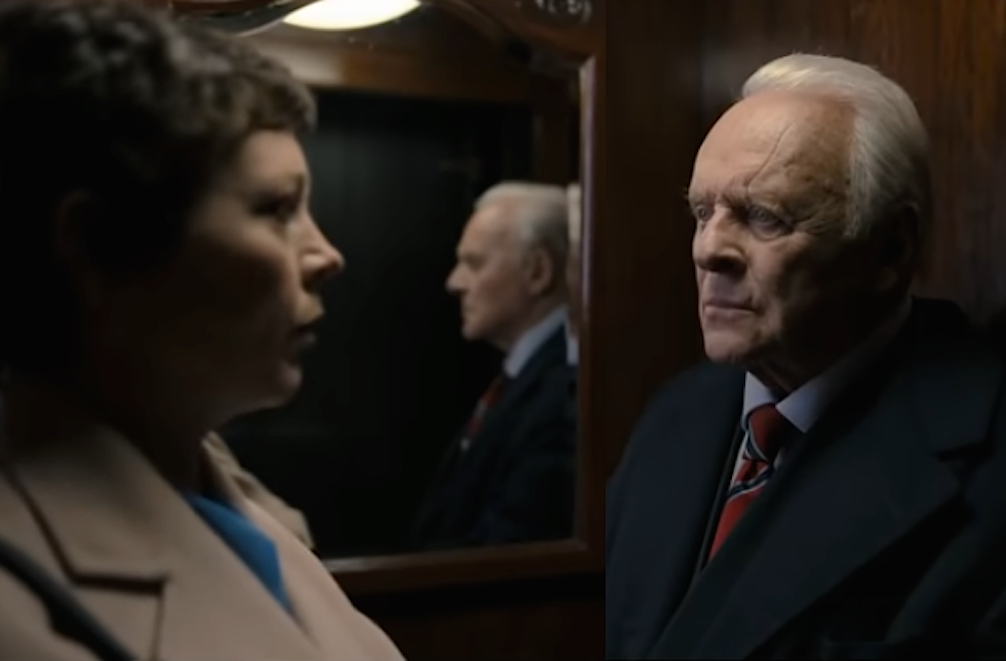 anthony hopkins and olivia colman in the father
