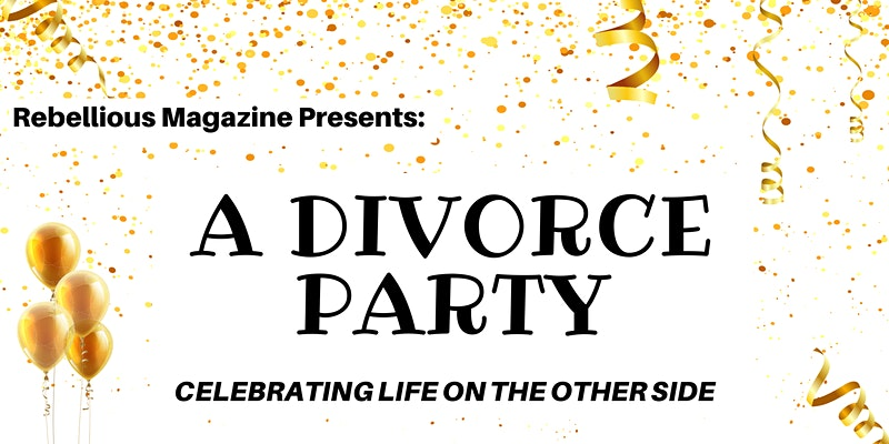 banner image of divorce party invitation