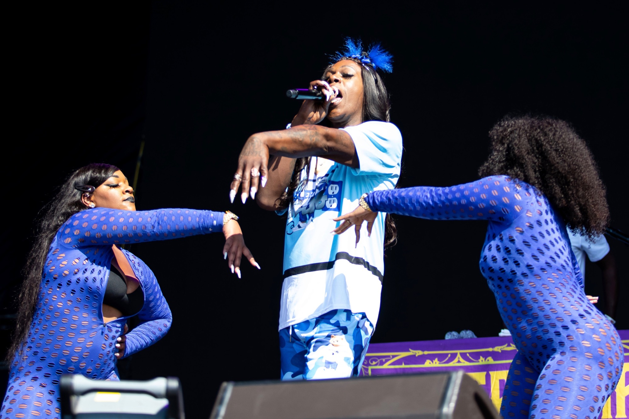 Big Freedia performs at Riot Fest in Chicago on Sept. 18, 2021.