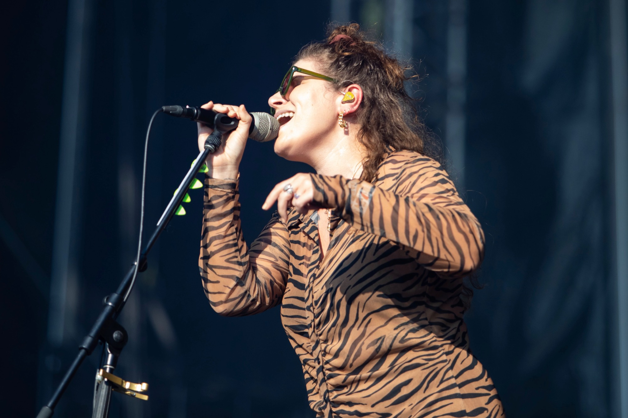 Best Coast performs at Riot Fest in Chicago on Sept. 18, 2021.