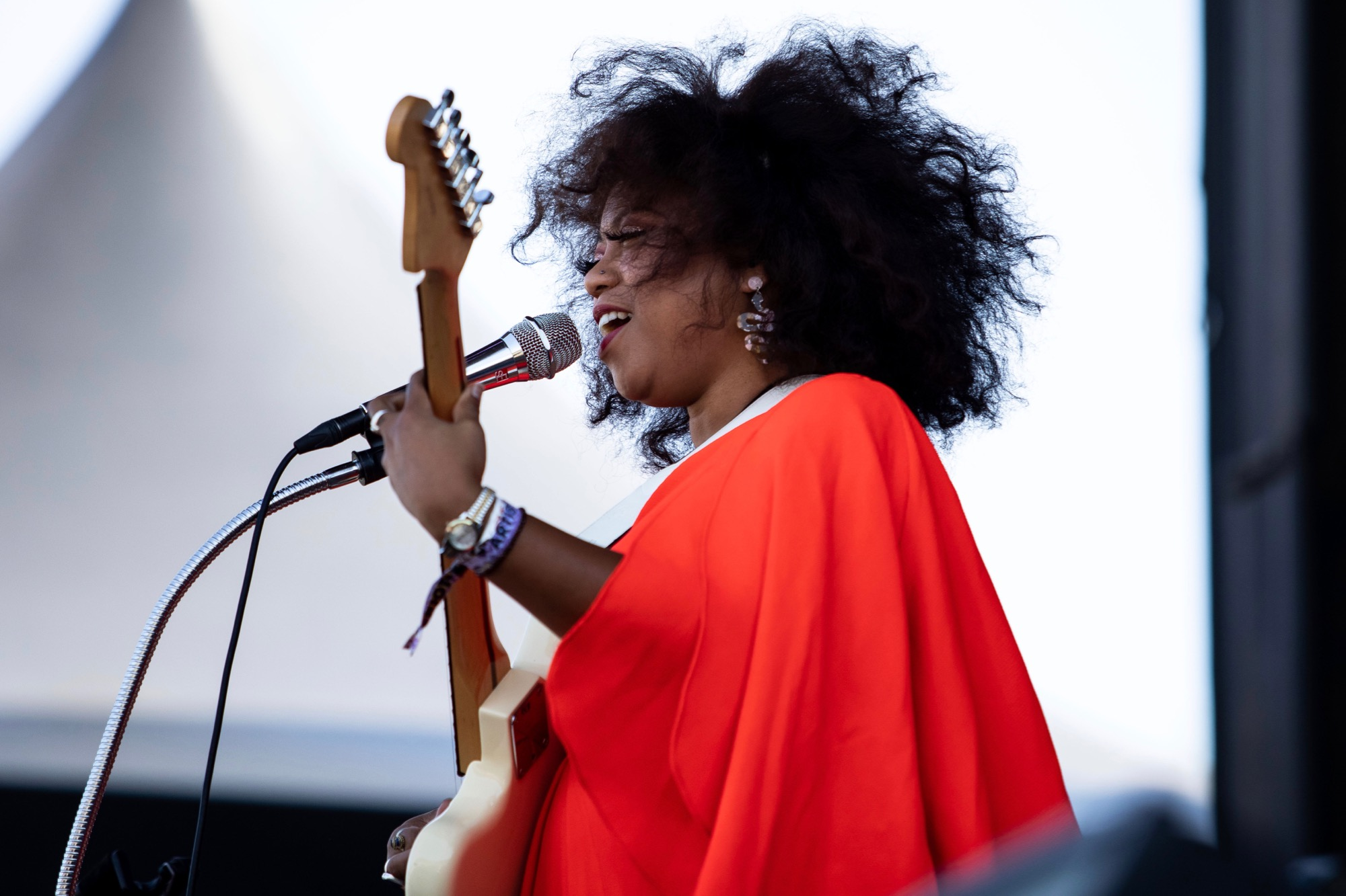 Seratones perform at Riot Fest in Chicago on Sept. 17, 2021.