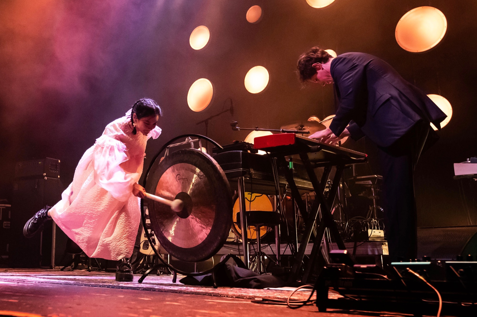 Japanese Breakfast performs at Thalia Hall in Chicago on Oct. 12, 2021.